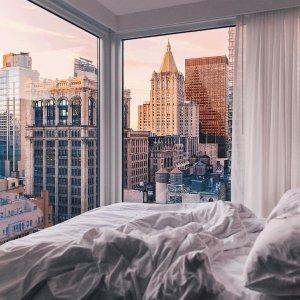 Expedia 纽约网红酒店+机票旅行套餐限时促销