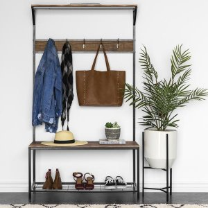 $75.99Best Choice Products 3-Shelf Hall Tree Storage Rack