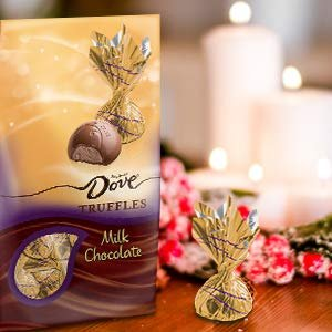 $5.08Dove Milk Chocolate Truffles, Christmas Candy Gifts, 5.31 Ounce Pack of 3
