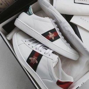 9折+免税 蜂蜜小白鞋码全,速抢Gucci, Prada, Saint Laurent 和 Miu Miu 新品折扣狂欢