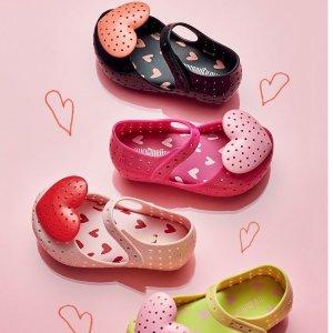 Mini melissa立体爱心童鞋