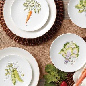 最高享7折Lenox 全场餐具大促 收爆款蝶舞花香、复活节装饰