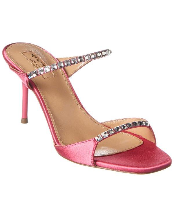 Diamante 75缎面穆勒鞋
