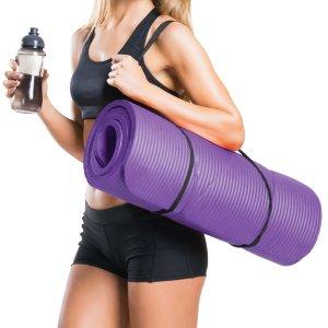 €22.59 (原价€28)Reehut 超厚防滑高密度优质瑜伽垫 夏日减肥动起来