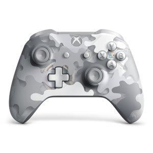 Microsoft Xbox 手柄 北极白迷彩配色
