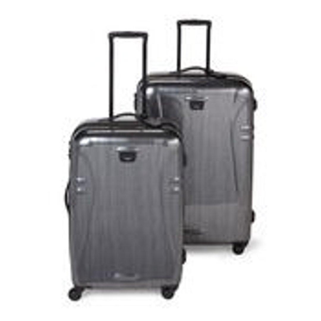 黑灰色拉杆行李箱(28寸和32寸一套)