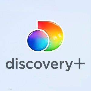 免费看1年, 无广告, 价值$84Verizon 部分Unlimited 用户, Discovery+ 视频订阅服务