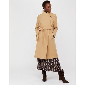 monsoon羊毛大衣