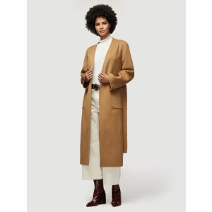 FrameDouble Faced Bell Coat -- Camel