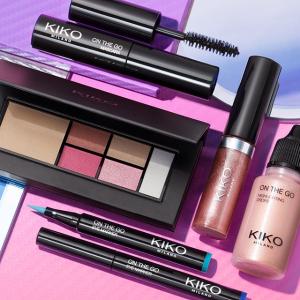 低至3折+买4免2Kiko Cosmetics 彩妆热卖 白菜价收口红、眼影等