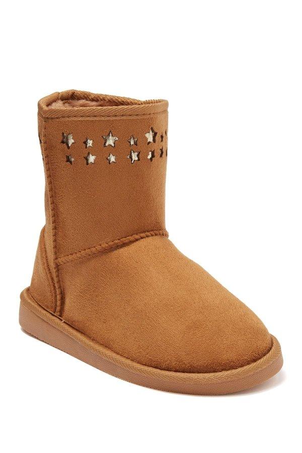 Star Faux Fur Lined 童款雪地靴