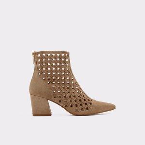 AldoGarerien Taupe Women's Ankle boots | Aldoshoes.com US