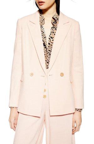 Topshop Coco Linen Blazer | Nordstrom
