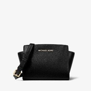 Michael KorsSelma Mini Saffiano Leather Crossbody
