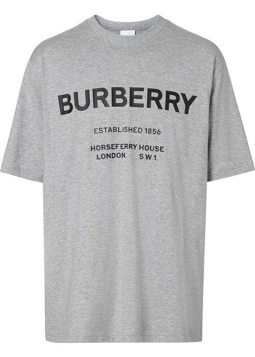 Logo Print Cotton T恤