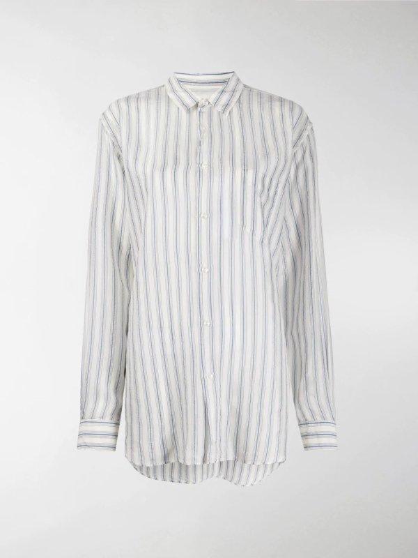 条纹休闲衬衫