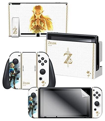 Controller Gear Nintendo Switch 官方授权保护膜套装