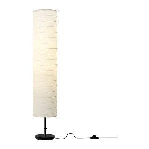 HOLMÖ Floor lamp with LED bulb - IKEA