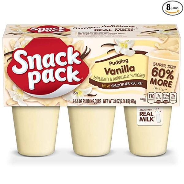 Snack Pack 香草布丁杯 48杯