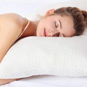 $22.31Sable 可调整碎片记忆棉枕头 竹纤维枕套