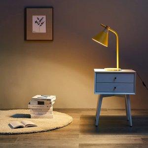 Umi 极简工业风床头灯 锥形灯罩设计 高颜值可爱又亮眼
