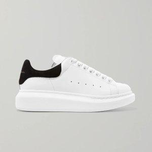 Alexander McQueen相当于美金$409,包税经典黑尾小白鞋,补货码全