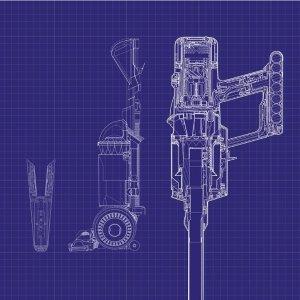 $449.99(原价$599.99)直立式宠物版吸尘器Dyson戴森 黑科技 多款吸尘器 V11送价值$149.99二合一收纳架