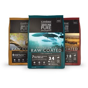 额外7.5折 DFA五星狗粮CANIDAE Grain-Free Pure 冻干包裹狗粮20磅