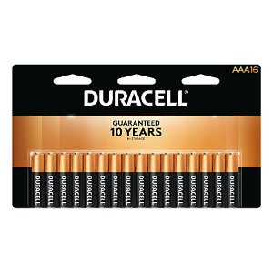$15.99 + $15.98 Rewards16-Pack Duracell Coppertop Batteries (AA/AAA)