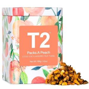 T2 tea桃子玫瑰茶 100g
