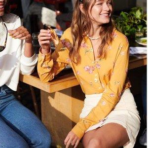 连衣裙$9.99起限今天:H&M 精选女装专场,你的夏日急需充值