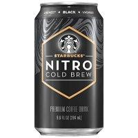 氮气冷萃无糖黑咖啡 8罐装