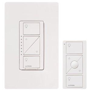 $59.99(原价$69.95) 幸福感满满Lutron 智能电门开关 带遥控器 在被窝里关灯的感觉 真好