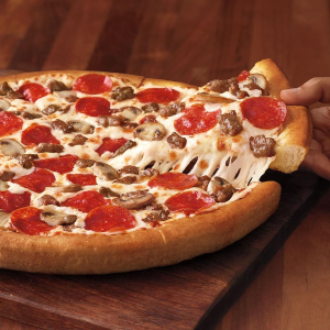 $25 minus $5 online orderPizzahut new Detroit pizza from $10.99 3 big pizza from $10