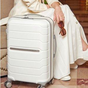 低至4.9折 €139收樱花粉 原价€199Samsonite 新秀丽行李箱 德国品质 坚固耐用 好看轻便