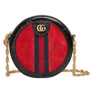 Gucci圆饼包