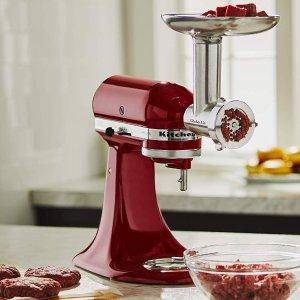$52.49KitchenAid KSMMGA 全金属厨房料理机绞肉配件套装