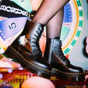 新用户享9折DR. MARTENS X HELLO KITTY 六十周年联名横空出世 成人童鞋都有