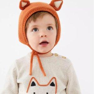 低至5折Hanna Andersson 儿童外套、针织衫、羽绒服等冬季服饰热卖