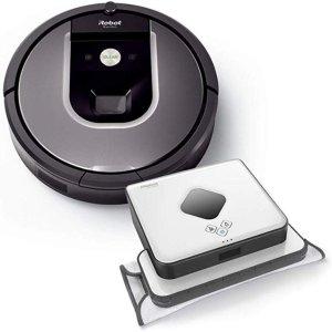 iRobot 960扫地机器人+390T擦地机器人套装 5.9折限时闪购
