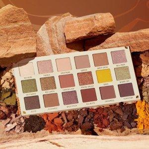 参加满减!最高减$25上新:Colourpop 砂石系列开售 大地元素 百搭实用