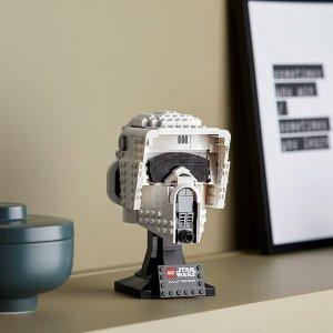 Lego帝国侦察兵头盔 75305   星战系列