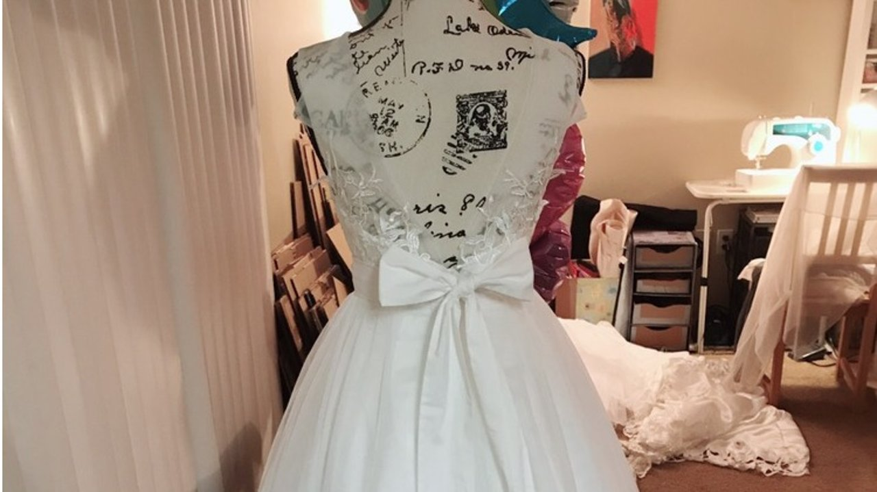 我的DIY嫁衣, 低成本公证小仪式