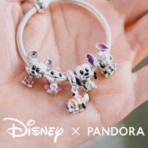 新品史迪仔吊坠€59 南瓜车耳钉€59地表最可爱联名 Pandora x Disney 新款上市 米奇米妮等你带回家!