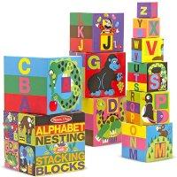 字母动物叠叠乐