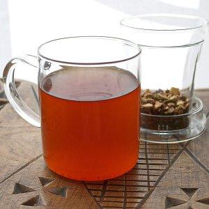 $7.21 (原价$17.6)Primula 透明玻璃过滤网茶杯