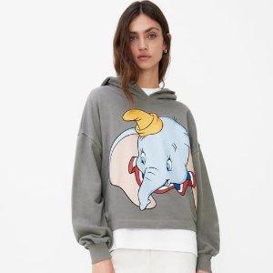 低至25折 £1收超萌T恤Zara X 迪士尼 小飞象、毒皇后、米奇米妮、小鹿斑比都在线