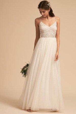 Violetta Dress Ivory  in  Bride   BHLDN