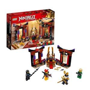 $10.76(原价$19.99)史低价:LEGO NINJAGO 系列 王座密室大决战 70651