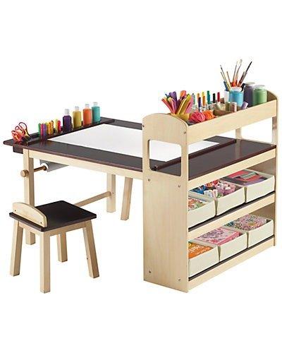 Guidecraft 豪华儿童桌椅收纳架套装
